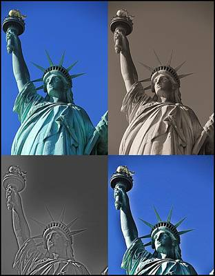 Statue Of Liberty Poster by Dan Sproul