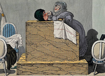 Steam Bath, 19th Century Poster by Wellcome Images