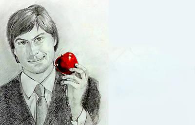 Steve Jobs Poster by Mayur Sharma