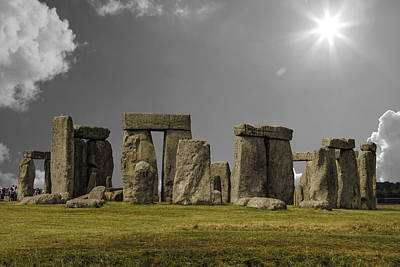 Stonehenge Poster by Martin Newman