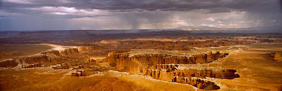 Storm Clouds Over Canyonlands National Poster