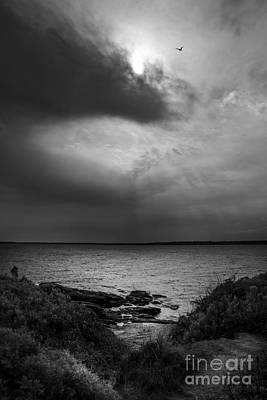 Storm Coming In Poster by Diane Diederich