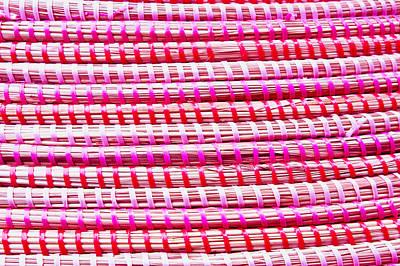 Straw Fibre Background Poster by Tom Gowanlock