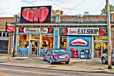 Strawn's Eat Shop Poster by Scott Pellegrin