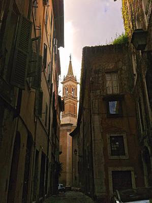 Street Of Rome Poster by Daniele Zambardi