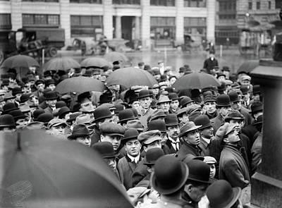 Strike Meeting, 1912 Poster by Granger