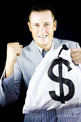 Success Brings Wealth Poster