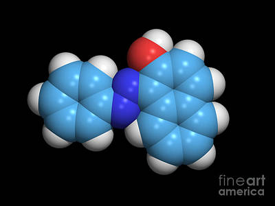 Sudan 1 Molecule Poster by Dr. Tim Evans
