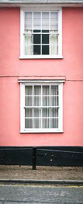 Suffolk Pink Poster