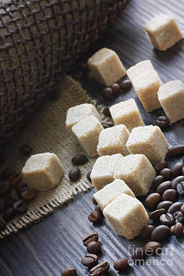 Sugar Cubes Poster by Mythja  Photography