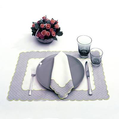 Summer Table Setting Poster