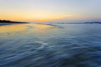 Sunrise On Hilton Head Island Poster by Peter Lakomy