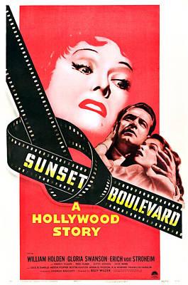 Sunset Boulevard, Gloria Swanson Poster by Everett