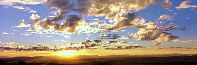 Sunset From The Rim Of Canyon De Chelly Poster by Panoramic Images