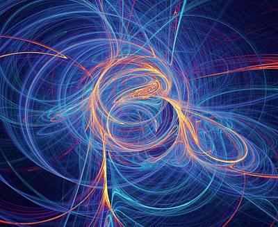 Supersymmetry Conceptual Artwork Poster by David Parker
