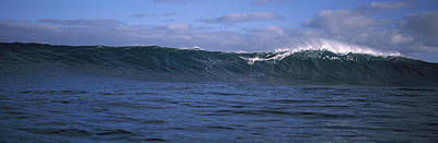 Surfer In The Sea, Maui, Hawaii, Usa Poster by Panoramic Images