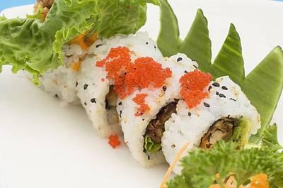 Sushi Platter Featuring Uramaki Ottawa Poster by Stock Foundry
