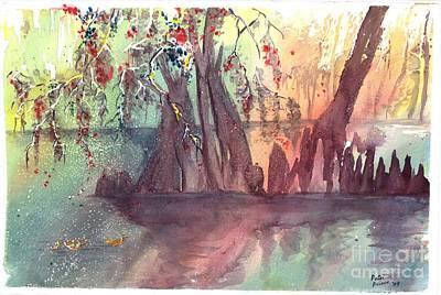 Swamplight Poster by Patsi Prince