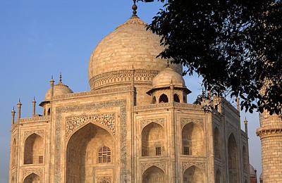 Taj Mahal In Evening Light Poster