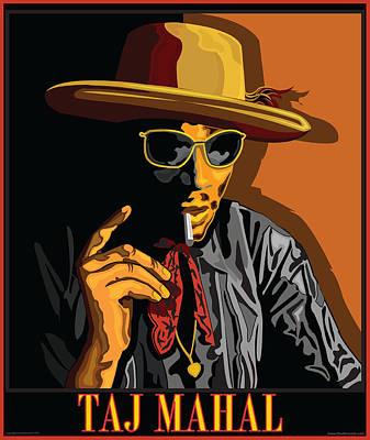 Taj Mahal Poster by Larry Butterworth