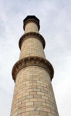 Taj Mahal Minaret Poster