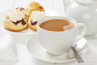 Tea And Scones Poster