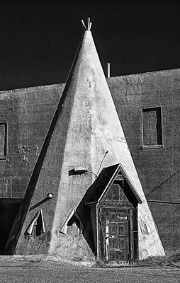 Teepee House Poster by Ron Regalado