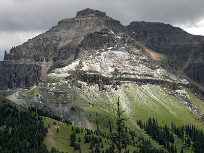 Poster featuring the photograph Telluride Summer Hail Storm by Robert Lozen