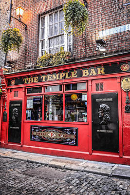 Temple Bar Poster by Chris Smith