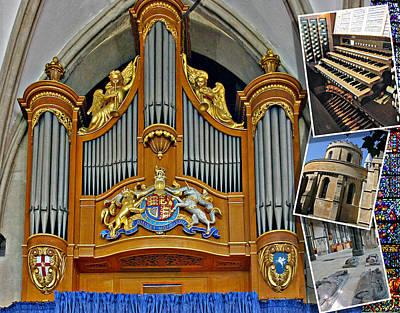 Temple Church London Poster