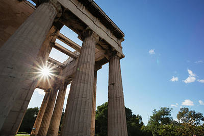 Temple Of Hephaestus  Athens, Greece Poster by Reynold Mainse