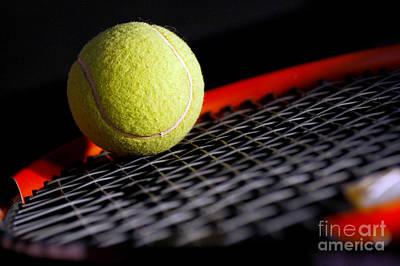 Tennis Equipment Poster by Michal Bednarek