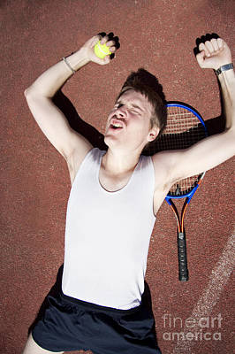 Tennis Triumph  Poster