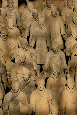 Terracotta Soldiers Unesco World Poster by Darrell Gulin