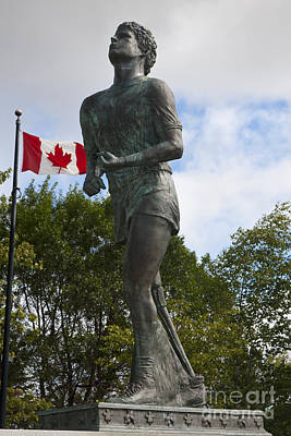 Terry Fox Monument Poster by Jason O Watson