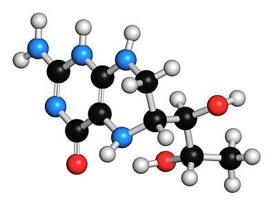 Tetrahydrobiopterin Phenylketonuria Drug Poster by Molekuul