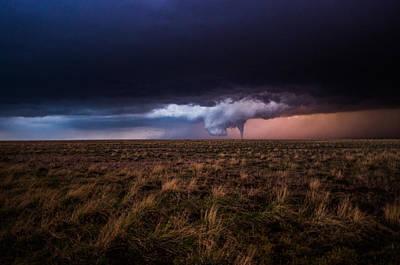 Texas Tornado Poster
