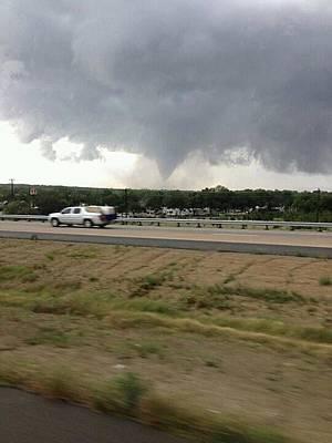 Texas Tornado Poster by Shawn Hughes