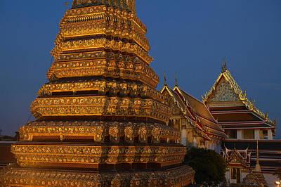 Thailand, Bangkok, Wat Pho, Buddhist Poster by Tips Images