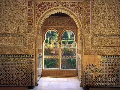 The Alhambra Torre De La Cautiva Poster
