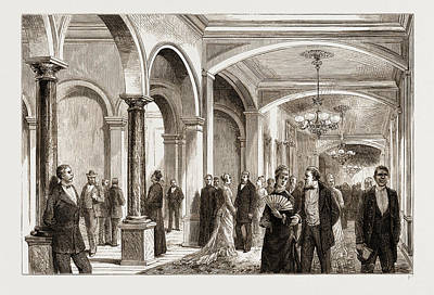 The American Centennial Exhibition Hotel Life Poster by Litz Collection
