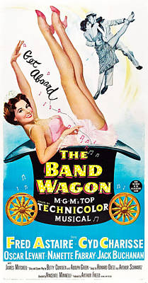 The Band Wagon, Cyd Charisse, Fred Poster