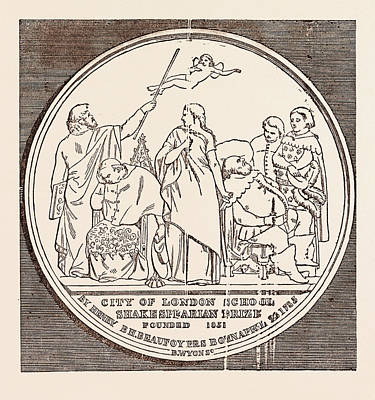 The Beaufoy Medal, In Commemoration Of The Birth And Death Poster