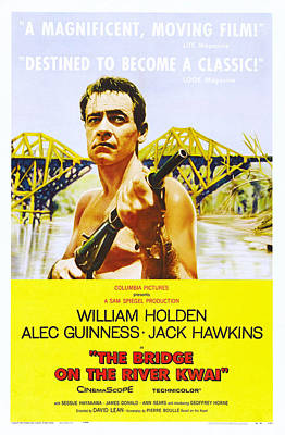 The Bridge On The River Kwai, Us Poster Poster