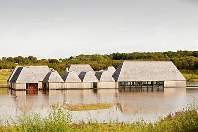 The Brockholes Visitor Centre Poster