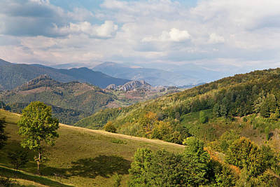 The Carpathian Mountains, Cerna Valley Poster