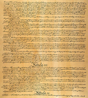 The Constitution, 1787 Poster by Granger