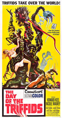 The Day Of The Triffids, 1962 Poster