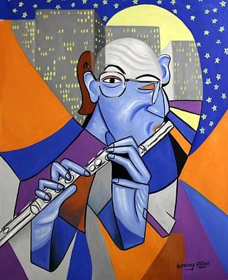 The Flutist Poster