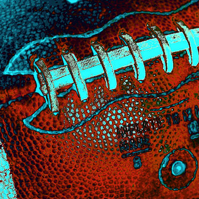 The Football Poster by David Patterson